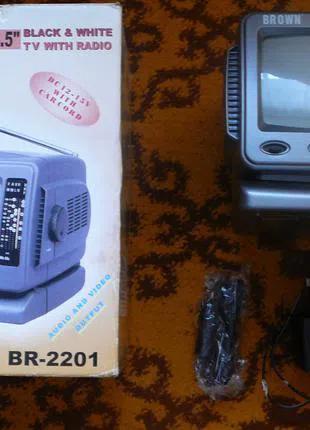 Портативный телевизор Brown BR-2201 (диагональ 14 см)