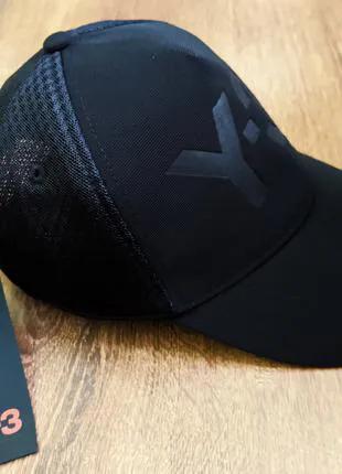 Летняя кепка бейсболка adidas y-3 YOHJI YAMAMOTO оригинал сетка