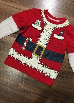 George 2 года Детский новогодний реглан new year футболка костюм