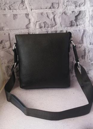 Кожаная мужская сумка чоловіча шкіряна сумочка