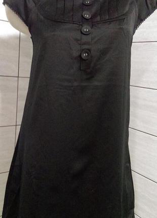 Милое платье -туника, ткань как натуральный шелк