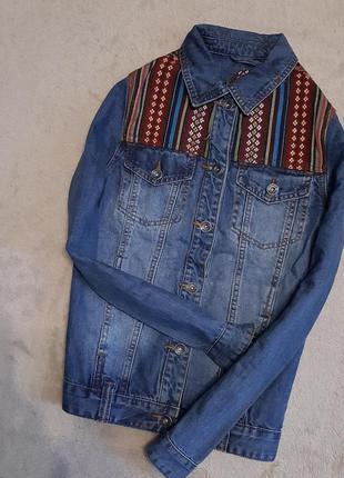 Пиджак джинсовый размер 8 bellfield