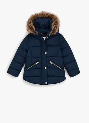 Куртка пальто zara 134-164