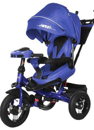 Трехколесный велосипед-коляска Impulse T 386 с пультом и усиленно