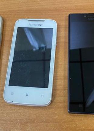 Телефоны Lenovo на запчасти и под восстановление.