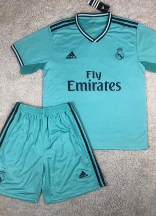 Футбольная форма фк реал мадрид (детская и взрослая) футболка+...