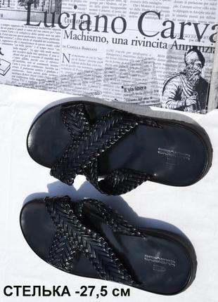 Ctильные и легкие шлепанцы от итальянского бренда  luciano  ca...