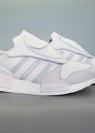 Кроссовки кожаные adidas originals micropacer r1 white g28940 ...