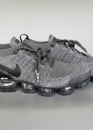 Кроссовки оригинал nike air vapormax 2 flyknit black grey 9428...