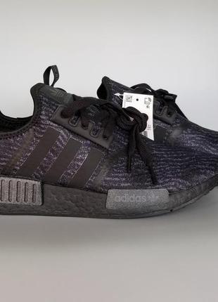 Кроссовки adidas nmd r1 reflective triple black boost g54154 о...