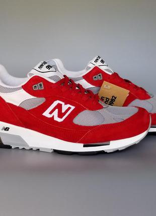 Кроссовки new balance 991.5 made in uk red/grey m9915aa оригинал