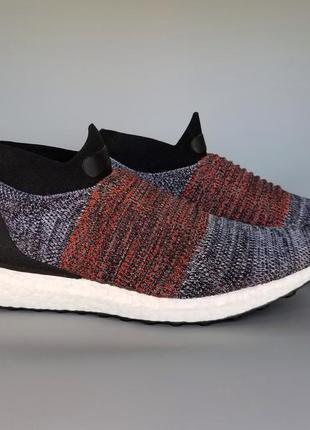 "Кроссовки оригинал adidas ultra boost laceless ""black/white/or..."