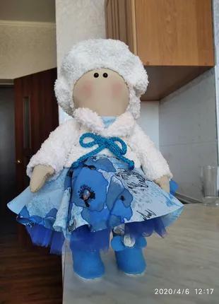 Интерьерна кукла, ручной работы.