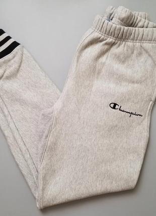 Спортивные штаны джоггеры champion yarn dyed jogger pant grey ...