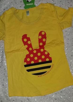 Sale футболка на девочку 3-5л