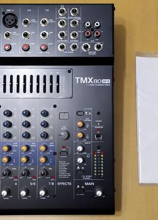 Активный микшерный пульт ALTO TMX 80 DFX