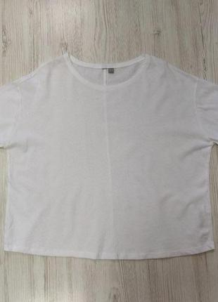 Распродажа до 30 июня 🔥  белая футболка большой оверсайз
