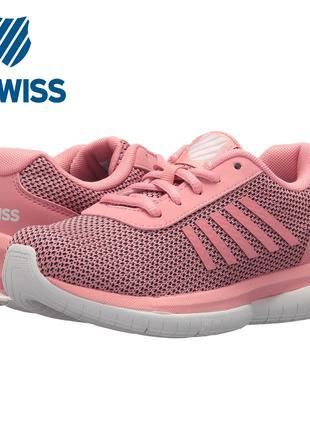 Легкие кроссовки сникерсы сетка K-Swiss Tubes Infinity 2,5US 34EU