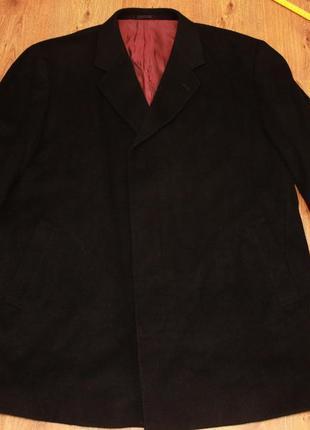 Пальто cashmere blend шерсть кашемир 52-54р.