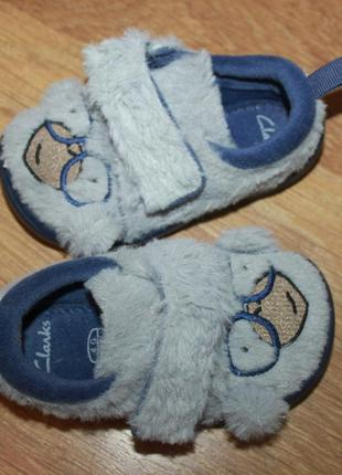 Ботиночки clarks мягкие обезьянки 12,5см