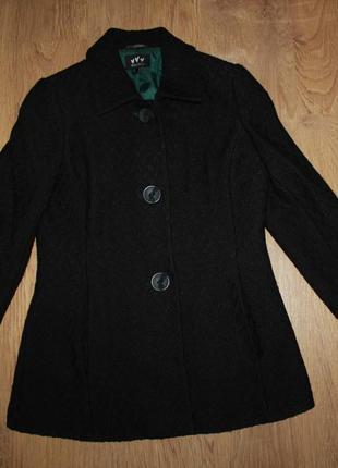 Пальто демисезонное marks&spencer 40р. шерсть +