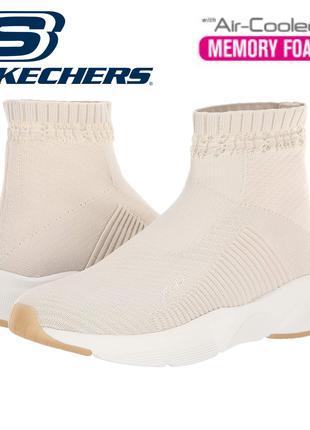 Трикотажные кроссовки кеды SKECHERS Meridian-On-The-Rise 40,5EU