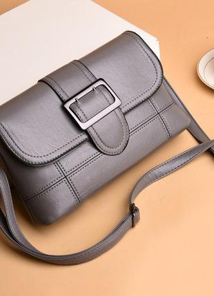 Женский стильный серый новый клатч сумка 2020