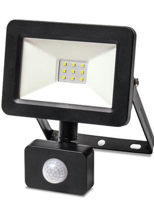 НОВЫЙ LED светильник (прожектор) уличный c датчиком движения 1...