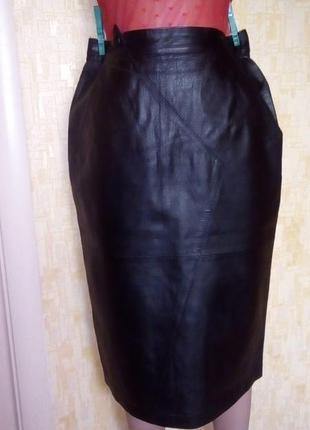 Красивая юбка из 100 % кожи/юбка кожаная/юбка/кожаная юбка/спи...