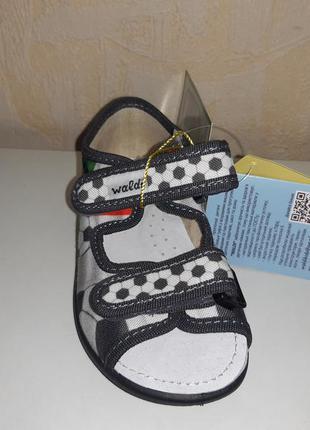 Текстильные босоножки на мальчика 23-30 р waldi