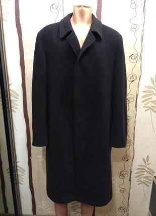 Bugatti демисезонное шерстяное прямое пальто
