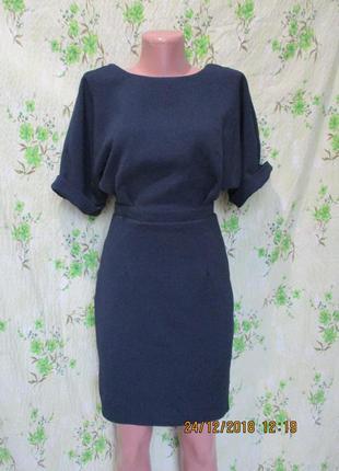 Красивое платье -реглан/приталенное/с вырезом на спине/ 38-40 ...