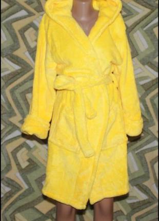 Короткий женский махровый халат, пр-во турция, в наличии расцв...
