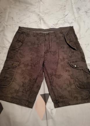 Хлопковые стильные шорты оригинального дизайна angelo litrico