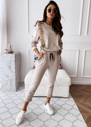 🔥новинка🔥костюм брюки блуза в расцветках супер качество 👍распр...