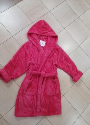 Женский махровый халат, la bella, пр-во турция, в наличии расц...