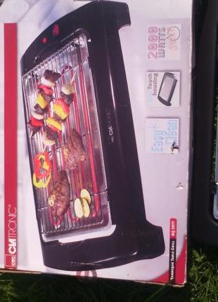 Новий настільний гриль барбекю Clatronic BQ 2977