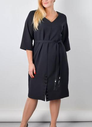 Базовое платье большого размера, платье женское плюс сайз, пла...