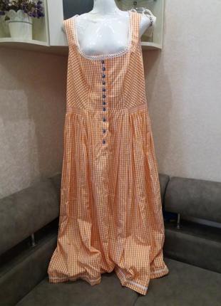Платье- сарафан в пол- бренд-sportalm---16 18р aвстрия  №407