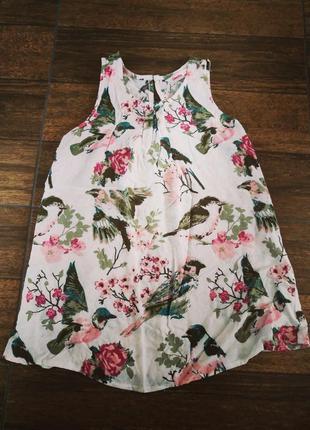 Блуза вискозовая 8-10 лет