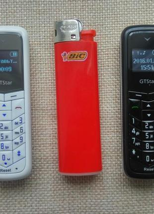GTStar BM50 мини телефон гарнитура 2SIM MicroSD Bluetooth