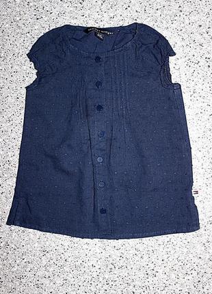 Рубашка блузка футболка 2 года tommy hilfiger