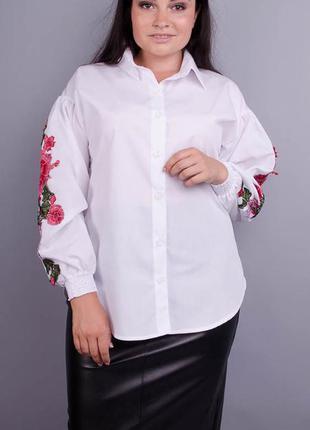 Стильная блуза плюс сайз, блузка женска большого размера, блуз...