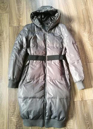 Удлиненная куртка, пуховик к.рlastinina, с-м