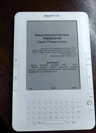 Электронная книга Amazon Kindle 2 (D00701) из США. Браузер ! MP3.