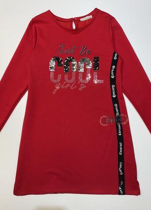Яркое платье benini для девочки подростка 12-14 лет.