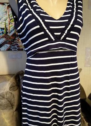 Платье в морском стиле британского бренда fat face