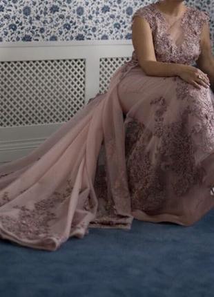 Продам шикарное вечернее (свадебное )Платье трансформер