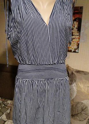Стильное платье туника для моря denim co & primark