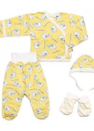 Акция! Костюмы для новорожденных на выписку. Новые